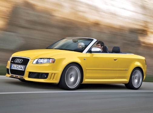 Top Consumer Rated Convertibles of 2008 - 2008 Audi RS 4