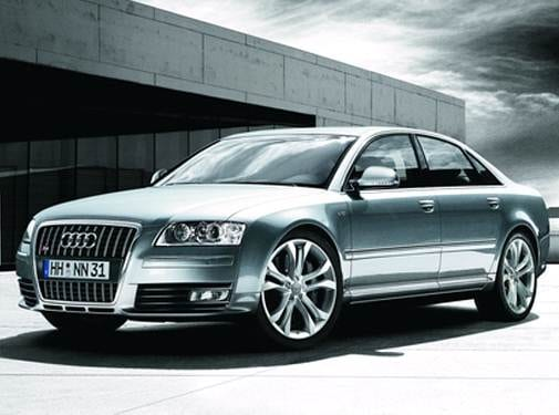 Top Consumer Rated Sedans of 2008 - 2008 Audi S8