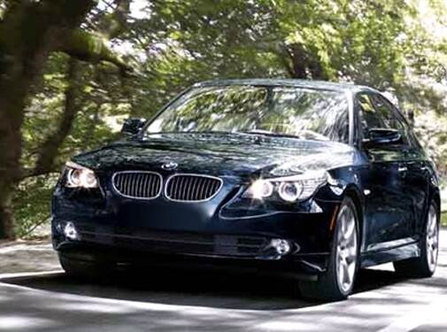 Most Popular Luxury Vehicles of 2008 - 2008 BMW 5 Series