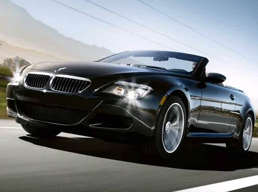 Top Consumer Rated Convertibles of 2008 - 2008 BMW M6