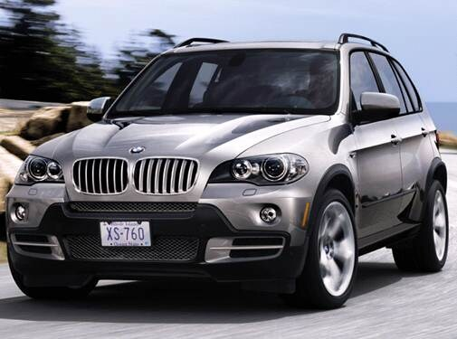 Highest Horsepower Crossovers of 2008 - 2008 BMW X5