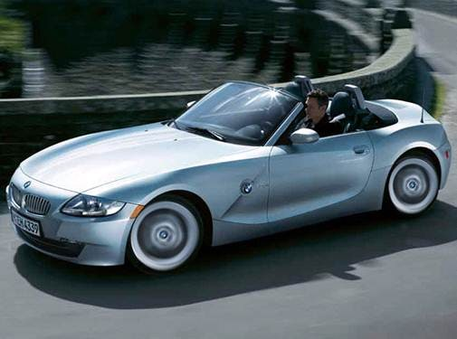 Most Fuel Efficient Convertibles of 2008 - 2008 BMW Z4