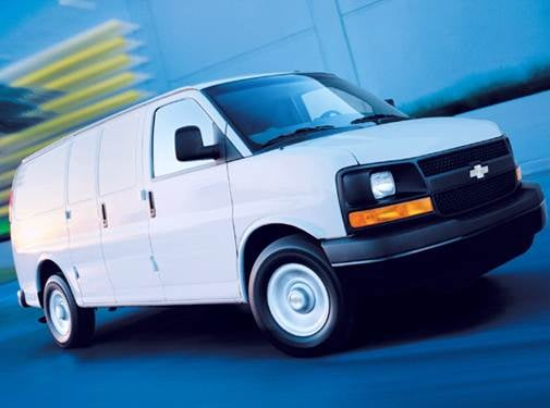 Highest Horsepower Van/Minivans of 2008 - 2008 Chevrolet Express 2500 Cargo