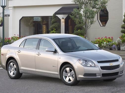 Highest Horsepower Hybrids of 2008 - 2008 Chevrolet Malibu