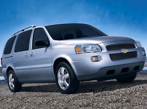 Most Fuel Efficient Van/Minivans of 2008 - 2008 Chevrolet Uplander Cargo