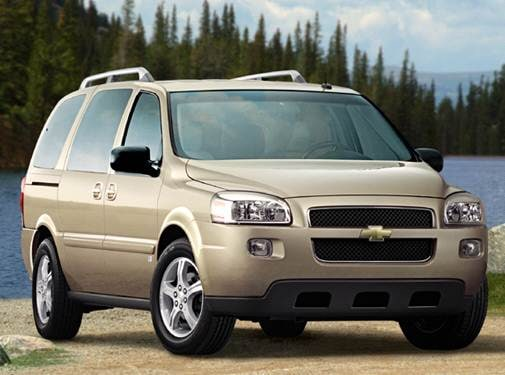 Most Fuel Efficient Van/Minivans of 2008 - 2008 Chevrolet Uplander Passenger