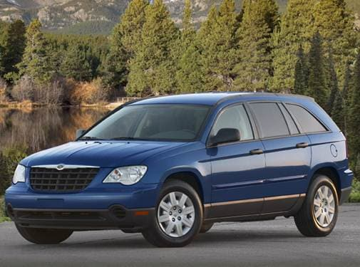 Most Popular SUVS of 2008 - 2008 Chrysler Pacifica