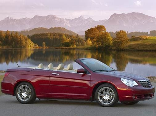 Most Fuel Efficient Convertibles of 2008 - 2008 Chrysler Sebring