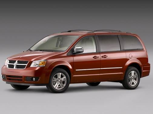 Most Fuel Efficient Van/Minivans of 2008 - 2008 Dodge Grand Caravan Passenger