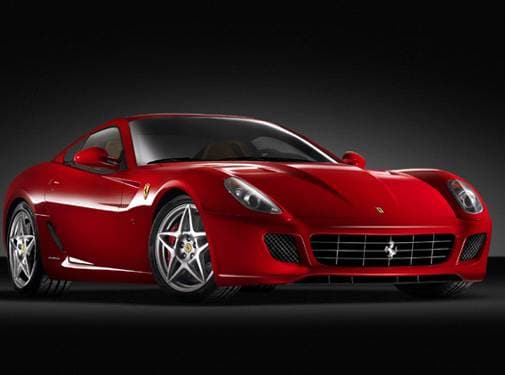 Highest Horsepower Luxury Vehicles of 2008 - 2008 Ferrari 599 GTB Fiorano