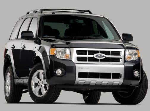 Most Popular Wagons of 2008 - 2008 Ford Escape
