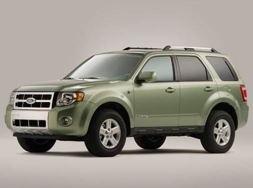 Most Fuel Efficient Suvs Of 2008 Ford Escape
