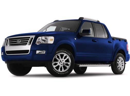 Top Consumer Rated Trucks of 2008 - 2008 Ford Explorer Sport Trac