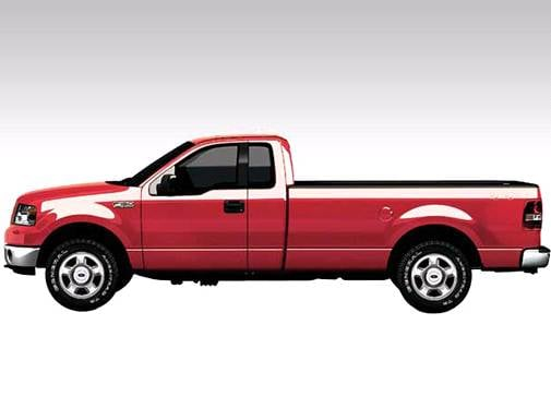 Top Consumer Rated Trucks of 2008 - 2008 Ford F150 Regular Cab