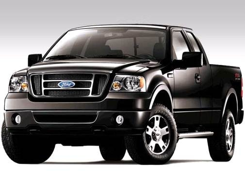 Top Consumer Rated Trucks of 2008 - 2008 Ford F150 Super Cab