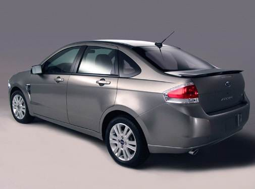Most Fuel Efficient Sedans of 2008 - 2008 Ford Focus