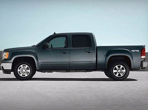 Top Consumer Rated Trucks of 2008 - 2008 GMC Sierra 1500 Crew Cab