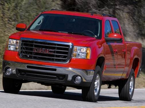Top Consumer Rated Trucks of 2008 - 2008 GMC Sierra 2500 HD Crew Cab