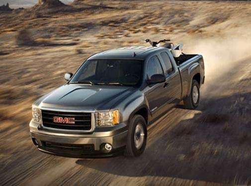 Top Consumer Rated Trucks of 2008 - 2008 GMC Sierra 2500 HD Extended Cab