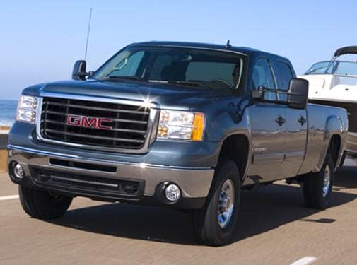 Top Consumer Rated Trucks of 2008 - 2008 GMC Sierra 3500 HD Crew Cab