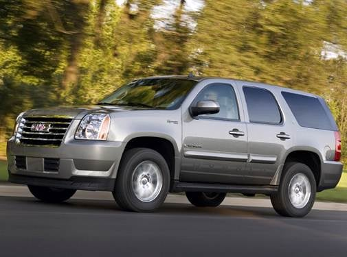Highest Horsepower Hybrids of 2008 - 2008 GMC Yukon