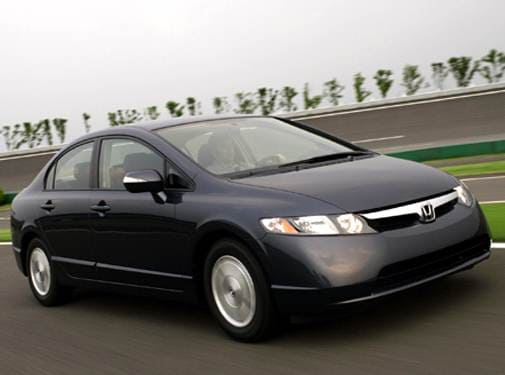 Most Fuel Efficient Sedans of 2008 - 2008 Honda Civic
