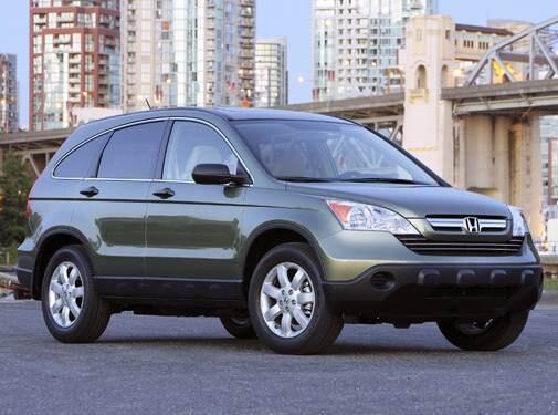 Most Fuel Efficient Suvs Of 2008 Honda Cr V