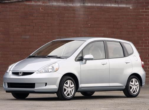 Most Fuel Efficient Sedans of 2008 - 2008 Honda Fit