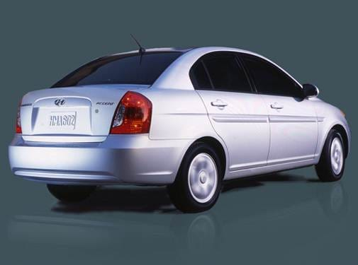 Most Fuel Efficient Sedans of 2008 - 2008 Hyundai Accent