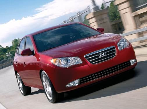 Most Fuel Efficient Sedans of 2008 - 2008 Hyundai Elantra