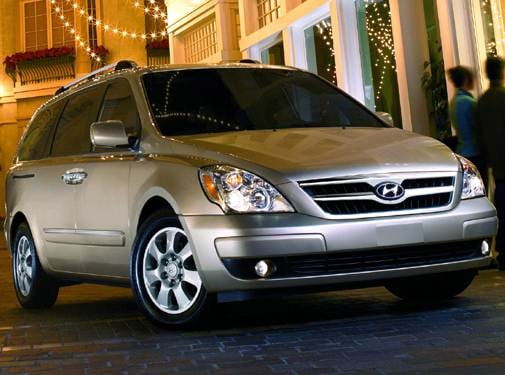 Most Fuel Efficient Van/Minivans of 2008 - 2008 Hyundai Entourage