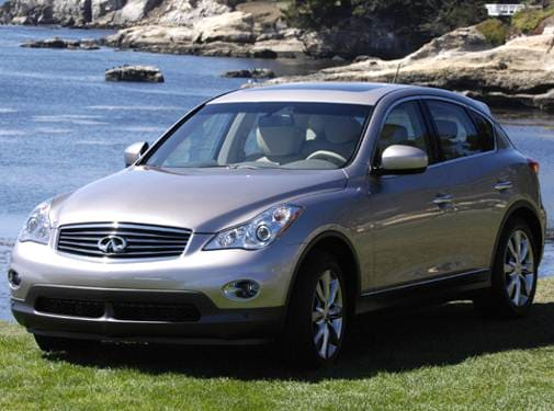 Highest Horsepower Crossovers of 2008 - 2008 INFINITI EX