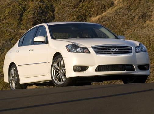Top Consumer Rated Sedans of 2008 - 2008 INFINITI M
