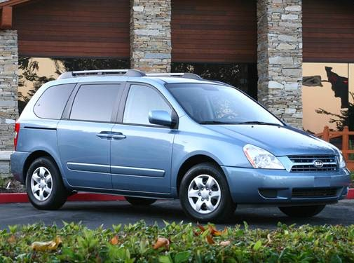 Most Fuel Efficient Van/Minivans of 2008 - 2008 Kia Sedona