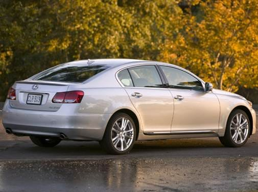 Highest Horsepower Hybrids of 2008 - 2008 Lexus GS