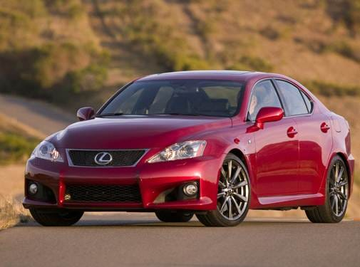 Most Popular Luxury Vehicles of 2008 - 2008 Lexus IS F