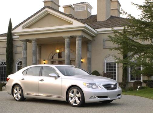 Highest Horsepower Hybrids of 2008 - 2008 Lexus LS
