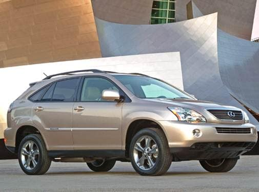 Highest Horsepower Hybrids of 2008 - 2008 Lexus RX
