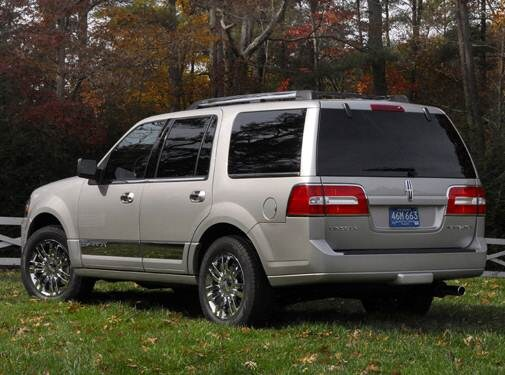 Top Consumer Rated SUVS of 2008 - 2008 Lincoln Navigator