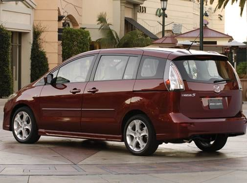 Most Fuel Efficient Van/Minivans of 2008 - 2008 Mazda MAZDA5