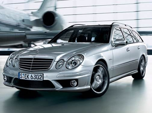Highest Horsepower Wagons of 2008 - 2008 Mercedes-Benz E-Class