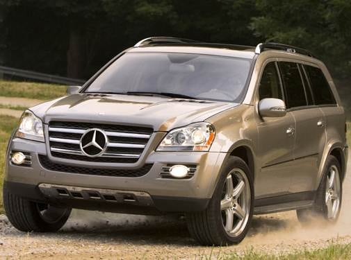 Highest Horsepower Crossovers of 2008 - 2008 Mercedes-Benz GL-Class
