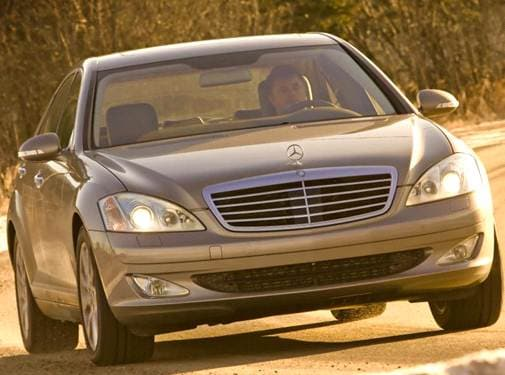 Top Consumer Rated Sedans of 2008 - 2008 Mercedes-Benz S-Class