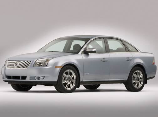 Top Consumer Rated Sedans of 2008 - 2008 Mercury Sable