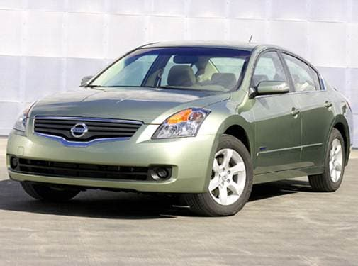 Highest Horsepower Hybrids of 2008 - 2008 Nissan Altima