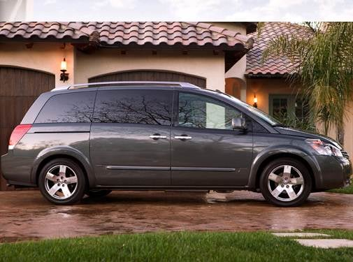 Most Fuel Efficient Van/Minivans of 2008 - 2008 Nissan Quest