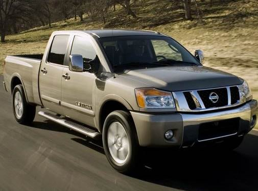 Top Consumer Rated Trucks of 2008 - 2008 Nissan Titan Crew Cab