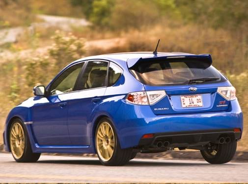 Highest Horsepower Wagons of 2008 - 2008 Subaru Impreza