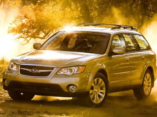 Most Fuel Efficient Wagons of 2008 - 2008 Subaru Outback