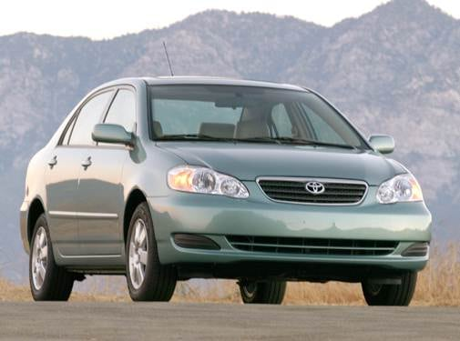 Most Fuel Efficient Sedans of 2008 - 2008 Toyota Corolla